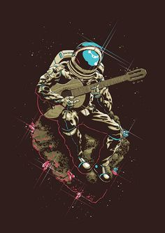 Check out this awesome collection of Astronaut Phone wallpapers, with 51 Astronaut Phone wallpaper pictures for your desktop, phone or tablet. Art Et Design, Graphic Design, Space Cowboys, Belle Photo, Trippy, Art Journals, Digital Illustration, Space Illustration, Astronaut Illustration