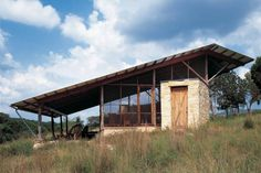 Lean House Plans Hill Country Jacal Lake Flato Modern N Mediu on – Lake Flato House Plans, with 49 Similar files Steel Framing, Lake Flato, Contemporary Cabin, Limestone Wall, Porch Steps, Residential Architect, Shed Roof, Sustainable Design, Cottage