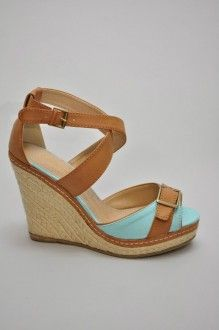 Sky Blue wedges @ Southern Flair Boutique