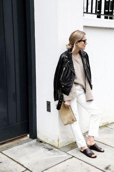 9 Super Stylish Black & White Outfits