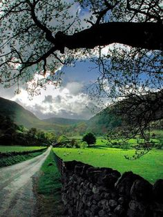 Spring, Cumbria, England photo via colleen