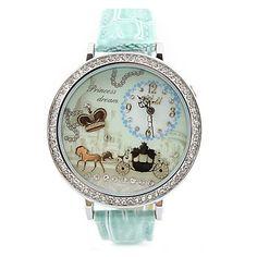 Crown Rhinestone Trim Polymer Clay Watch|Fashion Watches - New Style Watches - ByGoods.com