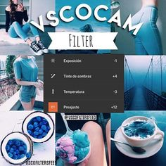 Este filtro me lo pidió @belagalarza_ da un bello toque a las fotos con azul. El filtro es gratis y la app es VSCOcam, espero les guste. ──────────────────── #vscofilters #vscofeed #vscoedit #vscocam #vscogrid #vscofiltros #sfs #vscocam #vscomx #vscofeed