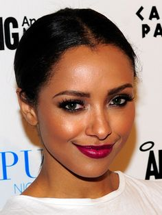 Easy, Pretty Updos to Wear With Everything... And Kat Graham totally looks like Hayden Panettiere.