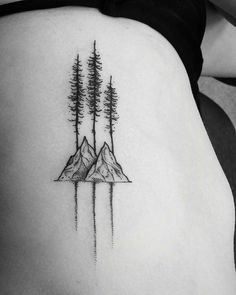 rei lets camp sticker simple wave, tree and mountain tattoo Little Tattoos, Love Tattoos, Beautiful Tattoos, Body Art Tattoos, New Tattoos, Small Tattoos, Tatoos, Sibling Tattoos, Sister Tattoos
