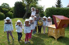 Bzykająca przyczepka edukuje - wizyta w Przedszkolu nr.1 w Sobótce