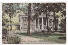 Central Avenue Home Memphis Tennessee 1910c Albertype postcard
