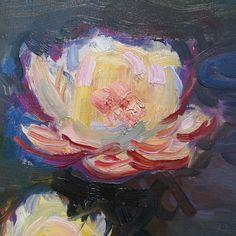 "lonequixote: "" Water Lilies, 1897 (detail) by Claude Monet """