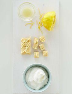 Lemon Bar Parfait- Set Up #BringBackDessert #Dessertify #FiberOne