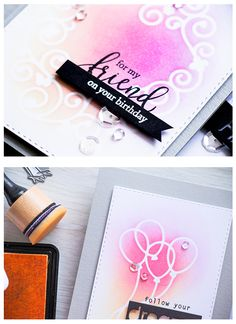 Die Stenciling with Yana Smakula on the Simon Says Stamp blog!