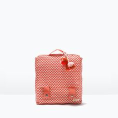PRINT FABRIC BACKPACK-Accessories-Baby girl (3 months - 3 years)-KIDS | ZARA United States