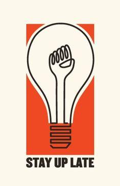 Epic Motivational And Demotivational Posters stay-up-late-motivational-poster Web Design, Design Art, Print Design, Logo Design, Design Ideas, Lettering, Typography, Facebook Poster, Political Posters