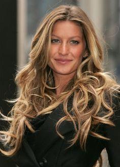 Gisele Bundchen hair