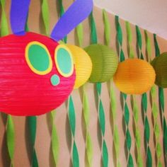 Very Hungry Caterpillar decorations