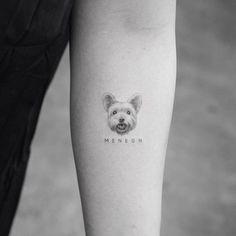 Tattoos of dogs, little tattoos, animal tattoos, mini tattoos, small ta Small Dog Tattoos, Little Tattoos, Mini Tattoos, Body Art Tattoos, New Tattoos, Sleeve Tattoos, Tattoos Skull, Tatoo Dog, Get A Tattoo