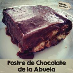 Postre de chocolate de la abuela #chocolate #postre #facil #economico #natillas