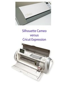 Lorrie's Story: Silhouette Cameo vs. Cricut Expression Review