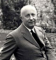 Christian Dior - Born 21 January 1905 in Granville, Coast Normandy, France. Died 23 October 1957 in Montecatini, Italy