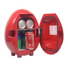Termoelettrico Smad 12 V 4L Mini Frigo Portatile Auto auto di Raffreddamento e Riscaldamento Frigorifero per I Camion 110 V/220 V dispositivo di Raffreddamento Dello Scaldino Box
