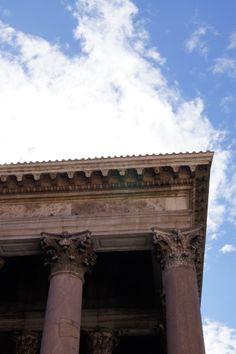 Rome, colonnade/pylväikkö, Rooma