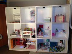 diy american girl dollhouse | DIY American Girl Doll House