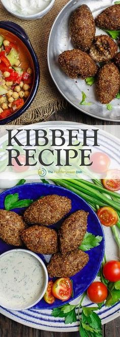 Kibbeh - Kibbeh are more than meatballs; they are Middle Eastern croquettes made of bulgur wheat, ground beef or lamb, onions, pine nuts and earthy Middle Eastern spices. They can be fried or baked for the perfect appetizer or side dish. Lebanese Recipes, Turkish Recipes, Greek Recipes, Indian Food Recipes, Ethnic Recipes, Armenian Recipes, Arabic Recipes, Syrian Recipes, Moroccan Recipes