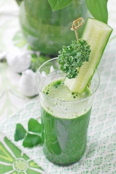 Green drinks (healthy juices)