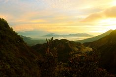 Golden Sunrise at Papandayan