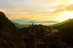 Golden Sunrise at Papandayan