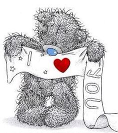 Love you Tatty Teddy Tatty Teddy, Cute Images, Cute Pictures, Teddy Bear Quotes, Teddy Beer, Teddy Bear Pictures, Blue Nose Friends, Love Bear, Cute Teddy Bears