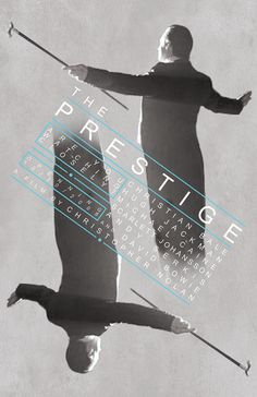 The Prestige Film Poster This is an original poster designed by me, the artist. Digitally printed on matte card stock. Polish Movie Posters, Best Movie Posters, Minimal Movie Posters, Movie Poster Art, Film Posters, Movie Co, Film Movie, The Cooler Movie, Art Of Noise