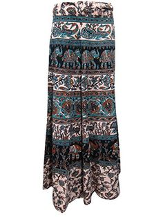 Skirt- Blue Ivory Animals Printed Long Wrap Skirts Dress, Holiday Fashion Mogul Interior http://www.amazon.com/dp/B00RL56QFA/ref=cm_sw_r_pi_dp_QwOOub023Z25M