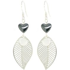 Leaf My Heart Oorbellen ♡ available at www.ibizamusthaves.nl