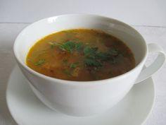 A vörös lencse ma már minden nagyobb élelmiszerüzletben kapható A leves belőle nagyon finom. Minden, Ethnic Recipes, Soups, Food, Essen, Soup, Meals, Yemek, Eten