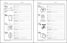 Posts about alpabetong Filipino worksheets written by samutsamot_mom Preschool Worksheets, Free Worksheets, Tagalog, Reading Material, Kids Education, Filipino, Kids Learning, About Me Blog, Notes