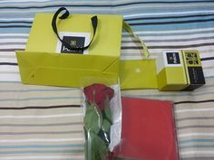 7th month anniversary. So glad from his perfume all over the gift