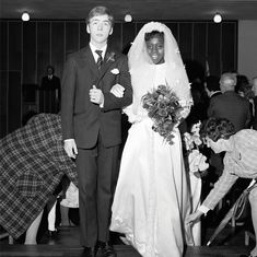 Wedding, Town Hall, Mare Street, Hackney, 1971  A new book of photography by Dennis Morris, Growing Up Black, documents life in 1960s and 70s Hackney, East London...