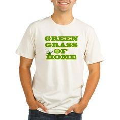 Tennis Green Grass Of Home T-Shirt on CafePress.com