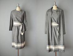 Vintage 60s Dress and Coat // 1960s Robert by OffBroadwayVintage