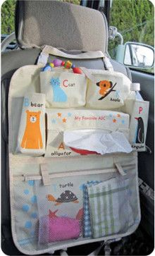 Animal ABC Car Organizer - contemporary - storage and organization - My Sweet Muffin