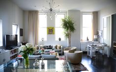 7 Pretty Living Room Ideas to Copy Now | StyleCaster