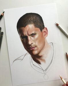 Am I expecting too much from me or this doesn't really look like him? • • •  #art #artdiscover #dailyart #artsy #arts_promote #instaart #originalart #artistic_support #art_dailydose #realismart #artwork #artsanity #workinprogress #artistoninstagram #artspotlight #artfollowers #traditionalart #michaelscofield #scofield #prisonbreak #prison #tvshow #wentworthmiller #coloredpencil #coloredpencils #carandache #fabercastellpolychromos #prisonbreak6 #prisonbreakedit #iuliancart Faber Castell Polychromos, Michael Scofield, Caran D'ache, Prison Break, Realism Art, Traditional Art, Insta Art, Colored Pencils, Original Art