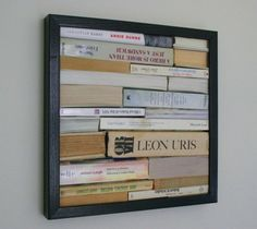if one could frame all the books one loved....