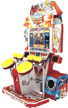 Percussion Master 3  Drum Simulator Video Arcade Game | From Wahlap Technology |   Get more information about this game at: http://www.bmigaming.com/games-catalog-wahlap-technology.htm