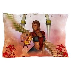 The women of fire Pillow Case by nicky - CafePress