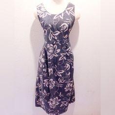1970s Alfred Shaheen Hawaiian Print Maxi Dress