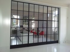 A stunning installation by Lightfoot Windows (kent) Ltd using Crittall steel doors and windows