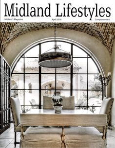 Vaulted brick ceiling and large arched window. Room Interior, Interior Design, Natural Interior, Dining Room Inspiration, Brick And Stone, Architectural Elements, Beautiful Space, Modern Rustic, Rustic Elegance
