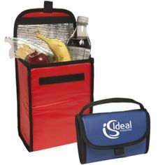 Promotional Products Ideas That Work: Nylon foldable lunch bag. Get yours at www.luscangroup.com