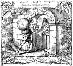 The Pilgrim's Progress by John Bunyan: Christian at the Wicket-Gate